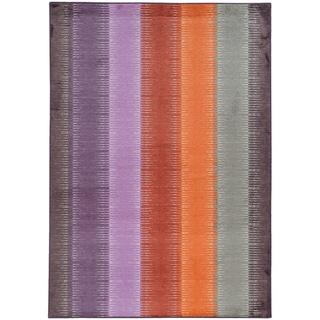 Pantone Universe Prismatic Multi/ Red Rug (9'8 x 12'1)