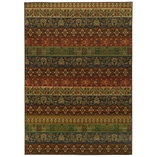 Floral Multicolored Rug (1'10 x 3'3)