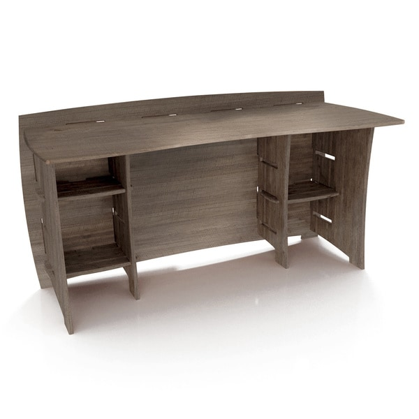 Shop Legare Furniture 60 Inch Grey Driftwood Straight Desk Free