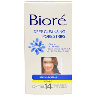 Biore Face and Nose Deep Cleansing Pore Strips (Pack of 14)