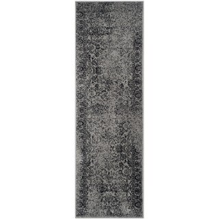 Safavieh Adirondack Grey/ Black Rug (2'6 x 10')