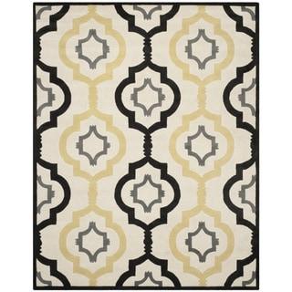 Safavieh Handmade Chatham Ivory/ Multi Wool Rug (8'9 x 12')