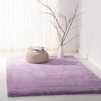 Safavieh California Cozy Plush Lilac Shag Rug - 6'7 x 9'6