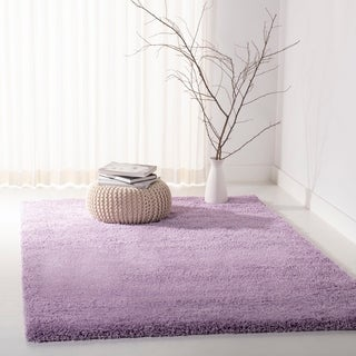 Safavieh California Cozy Plush Lilac Shag Rug - 6'7 x 9'6