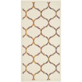 Safavieh Indoor/ Outdoor Havana Natural/ Multi Rug - 2'7 x 5'