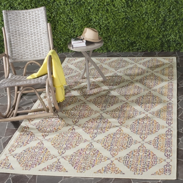 Safavieh Indoor/ Outdoor Havana Natural/ Multi Rug - 8' x 11'