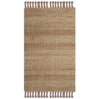 Safavieh Casual Natural Fiber Hand-Woven Natural/ Multi Jute Rug (2'6 x 4')