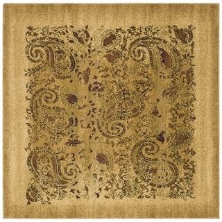 Safavieh Lyndhurst Traditional Paisley Beige/ Multi Rug (10' Square)