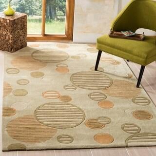Safavieh Handmade Modern Art Hanke Modern Polyester Rug