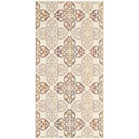 Safavieh Indoor/ Outdoor Havana Natural/ Multi Rug - 4' x 5'7