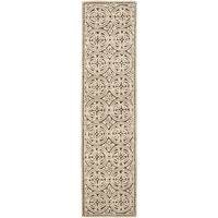 Safavieh Handmade Cambridge Tan/ Multi Wool Rug - 2'6 x 16'