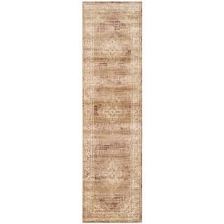 Safavieh Vintage Taupe Viscose Runner (2'2 x 16')
