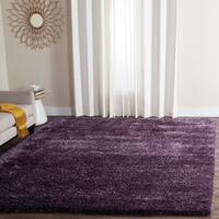 Safavieh Charlotte Shag Lavender Plush Polyester Rug - 8' x 10'