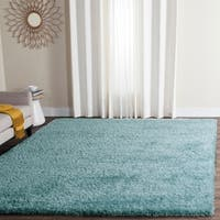 Safavieh Charlotte Shag Light Blue Plush Polyester Rug - 8' x 10'