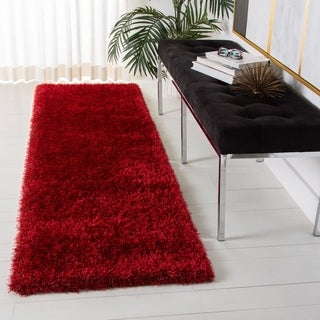 Safavieh Charlotte Shag Charcoal Plush Polyester Rug (8' x 10')
