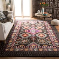 Safavieh Monaco Bohemian Brown/ Multicolored Rug (8' x 11') - 8' x 11'