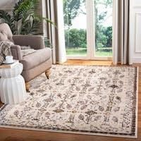 "Safavieh Serenity Cream/ Brown Rug - 8'6"" x 12'"