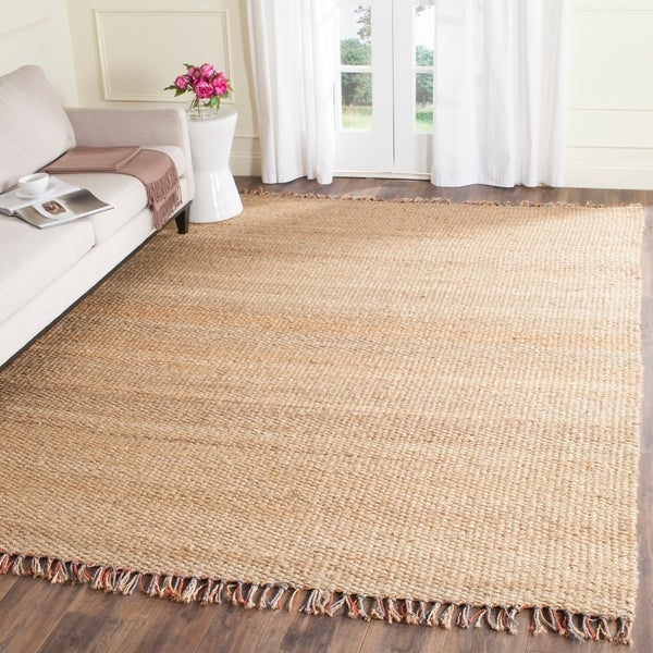 Safavieh Casual Natural Fiber Hand-Woven Natural / Multi Jute Rug - 8' x 10'