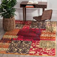 Safavieh Monaco Bohemian Patchwork Multicolored Distressed Rug (5'1 x 7'7)