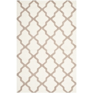 Safavieh Handmade Cambridge Ivory/ Beige Wool Rug (11'6 x 16')