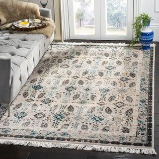 safavieh serenity cream turquoise rug 8u0027 x