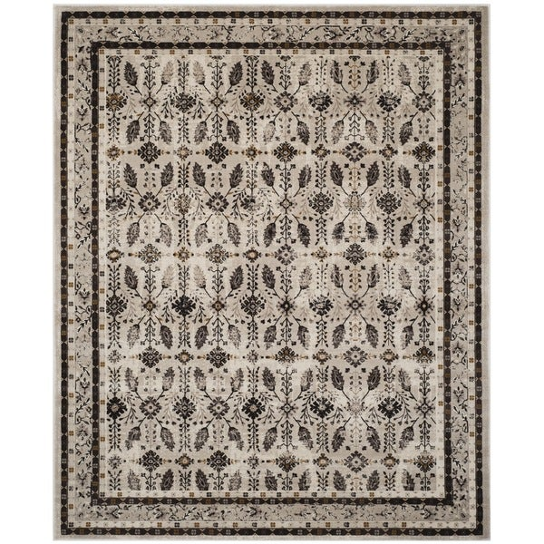 Shop Safavieh Serenity Cream Brown Rug 8 X 10 On