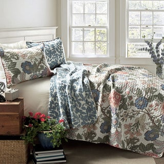 Lush Decor Sydney 3-Piece Quilt Set