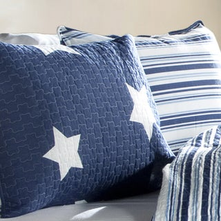 Link to Lush Decor Star Pattern 3-piece Cotton Quilt Set Similar Items in Kids Quilts & Coverlets