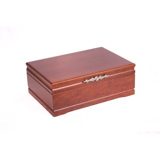 American Chest Sophistication Cherry Jewelry Box