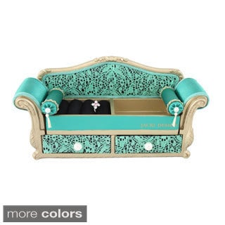 Jacki Design Cosmopolitan Sofa Jewelry Organizer
