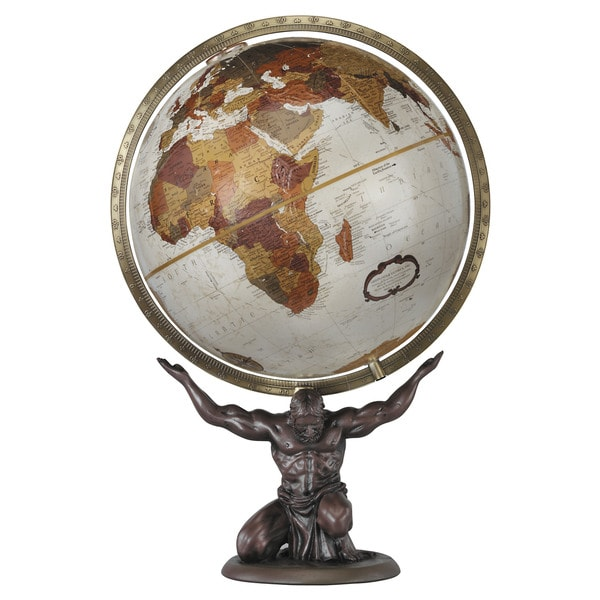 Atlas World Desktop Globe