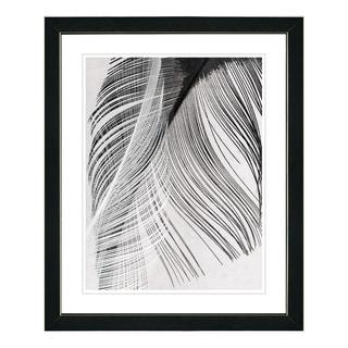 Studio Works Modern 'Feather Dance' Framed Fine Art Print