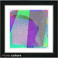 Studio Works Modern 'Weave Series - VIII' Framed Fine Art Print