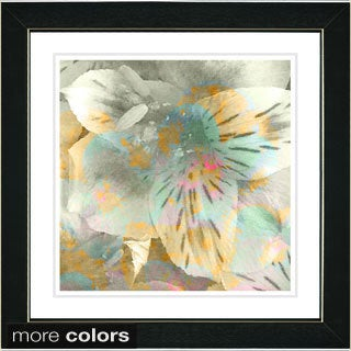 Studio Works Modern 'Carmel Flower' Framed Fine Art Print