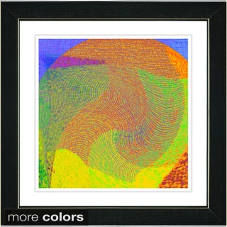 Studio Works Modern 'Wave Weave Series - V' Framed Fine Art Print