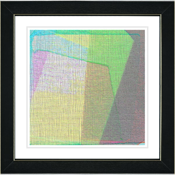 Studio Works Modern 'Weave Series - V' Framed Fine Art Print