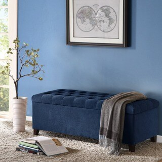 Oliver & James Holstad Tufted Top Storage Bench