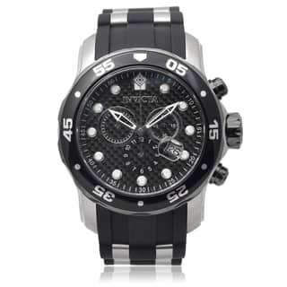 Invicta Men's 17879 Pro Diver Quartz Chronograph Silicone Band Watch|https://ak1.ostkcdn.com/images/products/9510662/P16689653.jpg?impolicy=medium