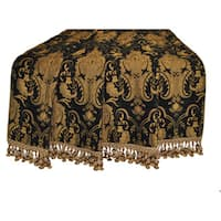 Sherry Kline Luxury China Art Black Throw