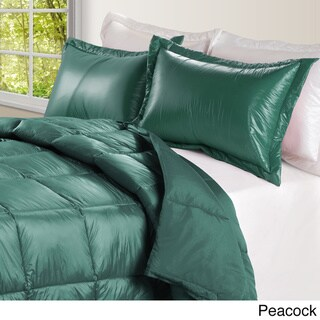 Ultralite High Loft Down Indoor/ Outdoor Water Resistant Comforter with Extra Strong Nylon Cover