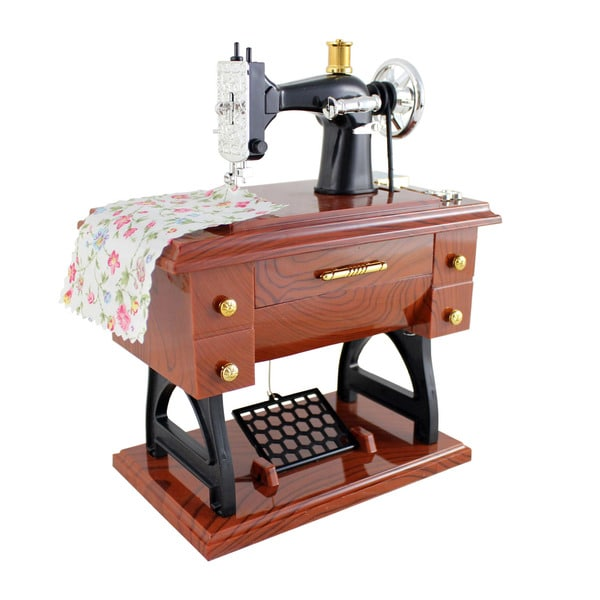 Shop Jacki Design Sewing Machine Music Box Free Shipping On Orders Best Sewing Machine Music Box