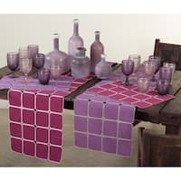 Square Tile Design Placemat (set of 4)