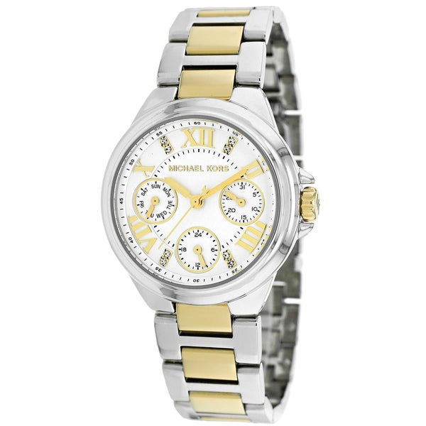 Michael Kors Women's Mk5760 Mini Camille Two Tone Stainless Steel Watch by Michael Kors