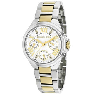 Michael Kors Women's Mini Camille Two Tone Stainless Steel Watch