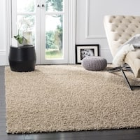Clay Alder Home Coldwater Shag Beige Area Rug (8' x 10')