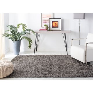 Safavieh Athens Shag Dark Grey Area Rug (5u00271 X ...