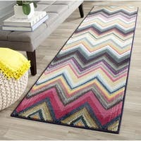 Safavieh Monaco Bohemian Chevron Multicolored Runner - 2'2 x 8'