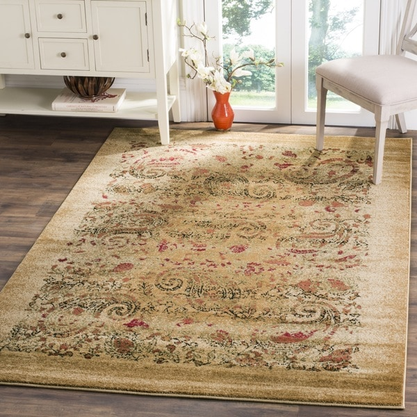 Rugs At Home Goods: Safavieh Lyndhurst Traditional Paisley Beige/ Multi Rug