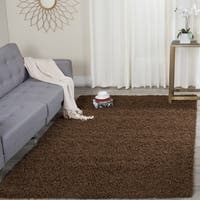 Safavieh Athens Shag Brown Area Rug - 8' x 10'