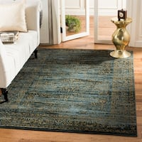 "Safavieh Serenity Turquoise/ Gold Rug - 5'1"" x 7'6"""